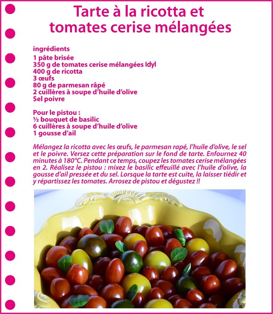 Recettes tomates - le TOP 5 des recettes les plus colorées du moment = Idyl