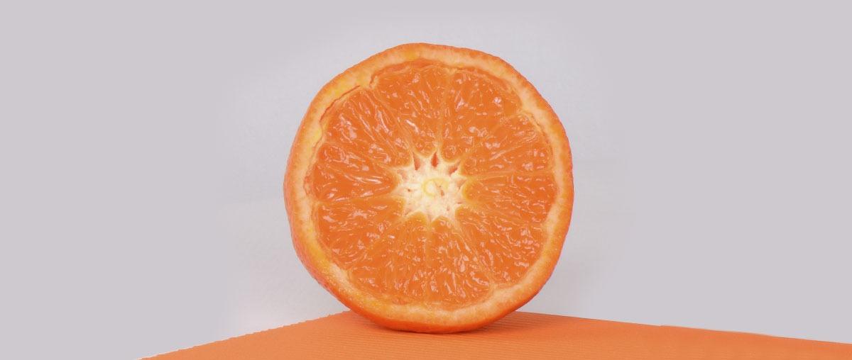 Photo d'une mandarine Nadorcott sans pépins